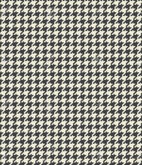 Houndstooth - Junior Bib