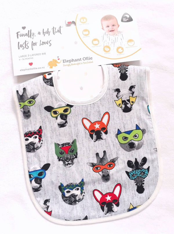 Animals in Disguise Bib