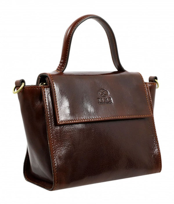 Leather Purse - Brown