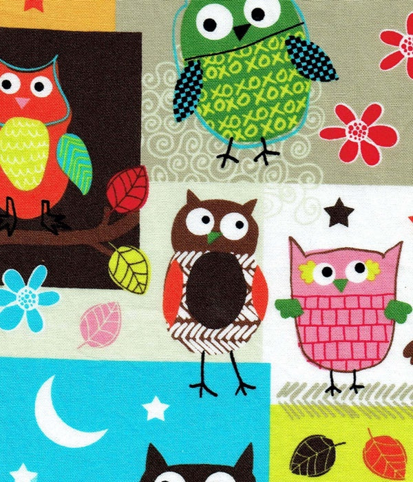 Owls Multi Bib (Drop-Me-Not)