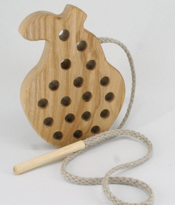 Lacing Wooden Fruit