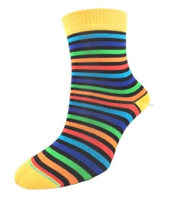 NZ Made Kids' Striped Socks