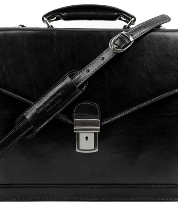 Leather Magus Briefcase