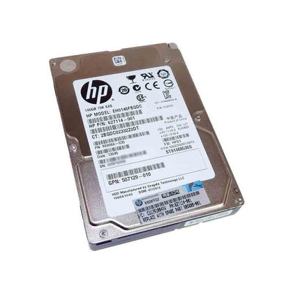 HP 146GB 15k 6G 2.5 inch SAS Hard disk 627114-001 | 652599-005