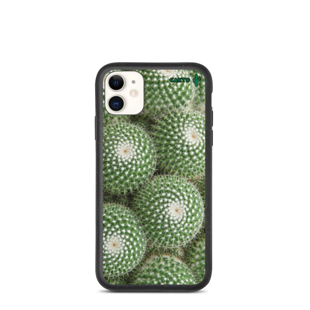 Funda de iPhone cactus corona biodegradable - Cakto