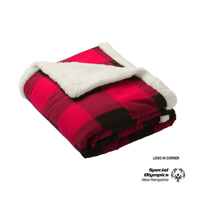 Port Authority ® Flannel Sherpa Blanket