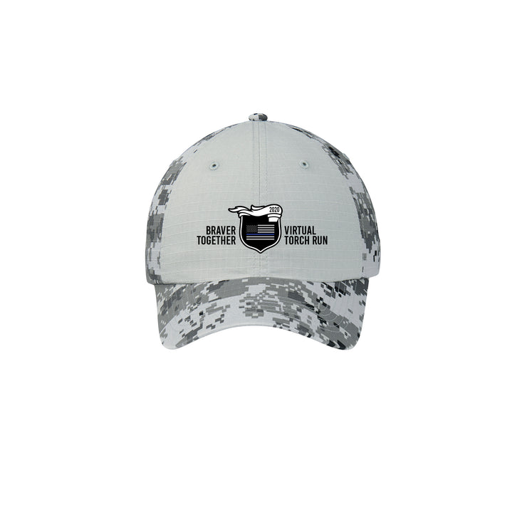 2020 Virtual Torch Run - Adjustable Ripstop Camo Cap