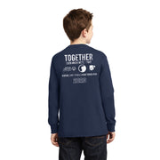 2020 Braver Together Virtual Torch Run Youth Long Sleeve T-Shirt