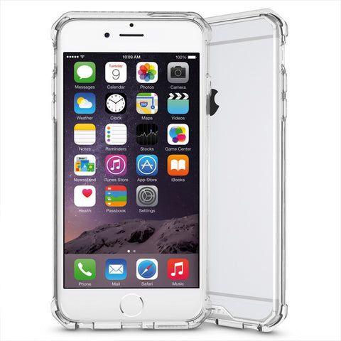 Θηκη Shockproof TPU - iPhone 6 Plus/6s Plus - Διαφανο - iThinkSmart.gr