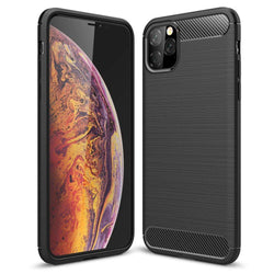 Θηκη TPU Carbon OEM - iPhone 11 Pro - Μαυρο - iThinksmart.gr