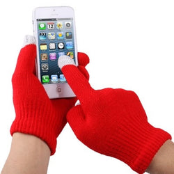 Touch Screen Gloves Κοκκινα - iThinksmart.gr