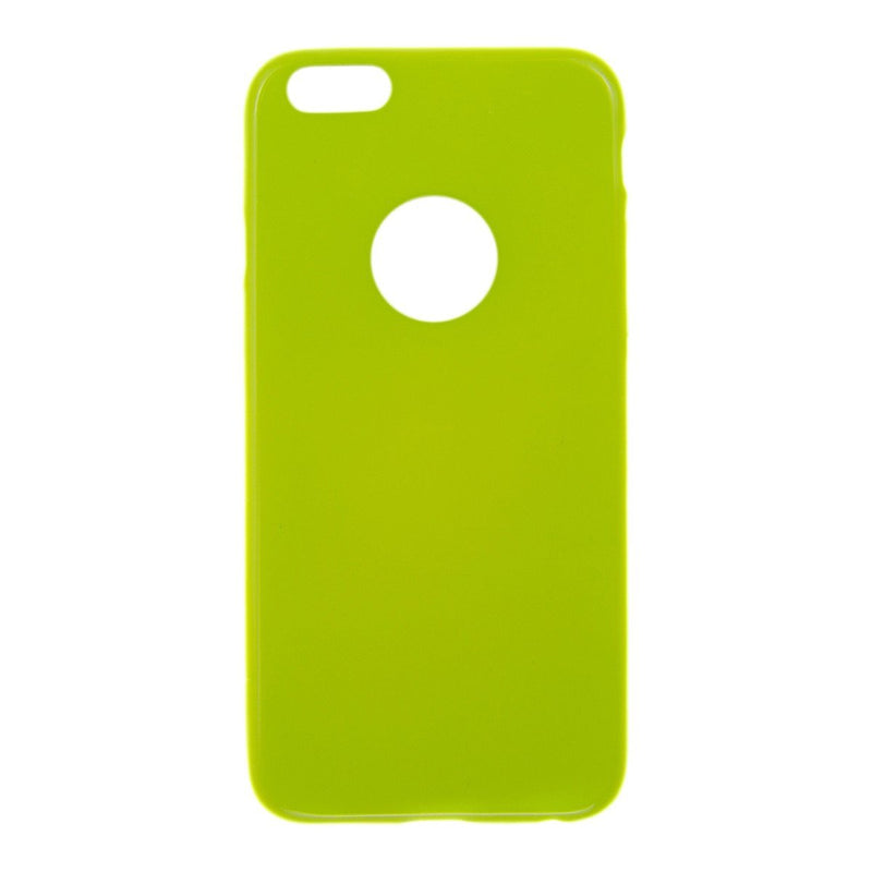Θηκη TPU Jelly UV - iPhone 6/6s - Lime - iThinksmart.gr