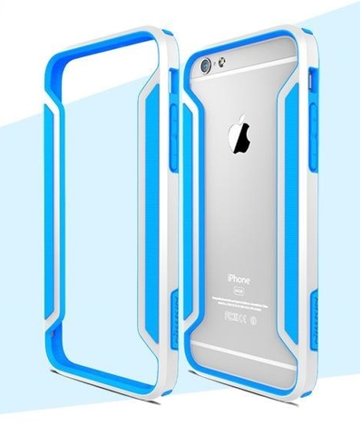 Θηκη Slim Armor Border Nillkin Λευκο - iPhone 6 Plus / 6s Plus - iThinkSmart.gr