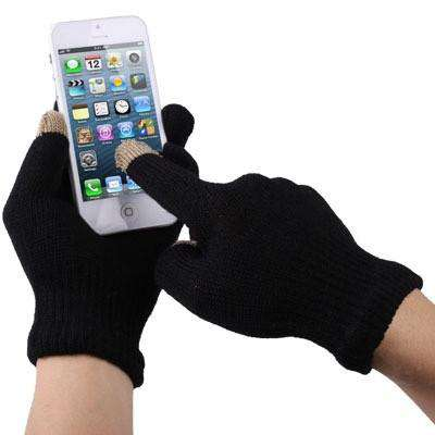Touch Screen Gloves Μαυρα Small,  , Gloves, i-Think - i-Think