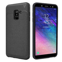 Θηκη TPU Leather Tech Protect - Galaxy A6 Plus (2018) - iThinksmart.gr