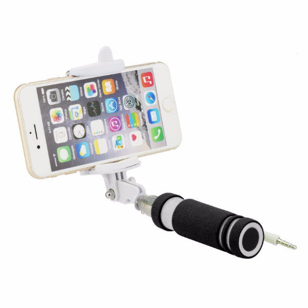 Selfie Stick Blun (3,5mm jack) - Μαυρο - iThinksmart.gr