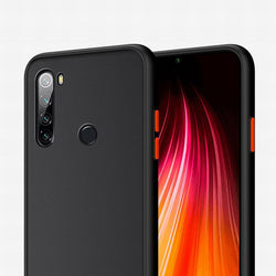 Θήκη Xiaomi Redmi Note 7/ Note 8 Pro / Note 8 T / Redmi 7A - Vennus Color Button - Μαύρο / Κόκκινα Κουμπιά - iThinksmart.gr