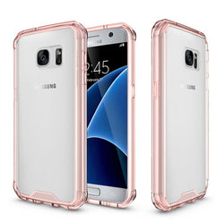 Θηκη Shockproof TPU - Galaxy S7 - Ροζ - iThinksmart.gr