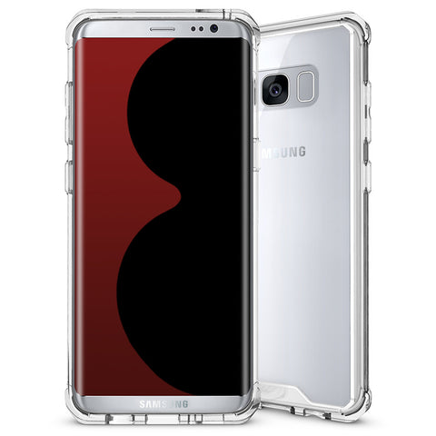 Θηκη Shockproof TPU - Galaxy S8 Plus - Διαφανο