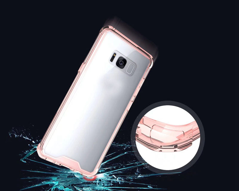 Θηκη Shockproof TPU - Samsung Galaxy S8 Plus - Ροζ - iThinksmart.gr