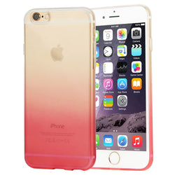 Θηκη TPU Haweel 0,3mm - iPhone 6 Plus/6s Plus - Ροζ / Διαφανο - iThinksmart.gr
