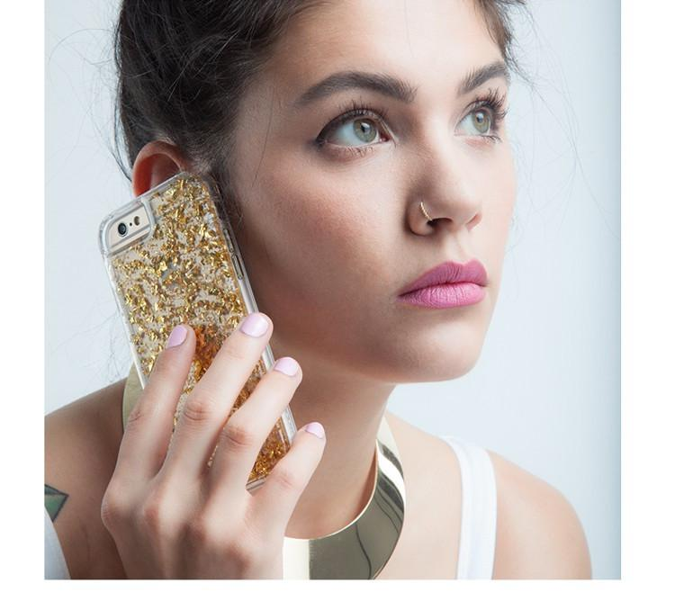 "Θηκη TPU ""Bling"" - iPhone 5/5s/SE - Ασημι - iThinksmart.gr"