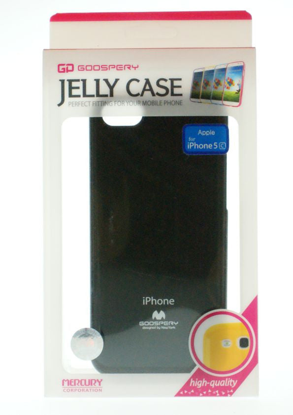 Θηκη Mercury Jelly Case - iPhone 5C - Μαυρο - iThinksmart.gr