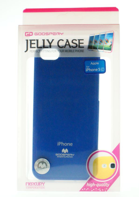 Θηκη Mercury Jelly Case - iPhone 5C - Μπλε - iThinksmart.gr