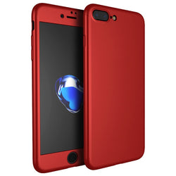 Θηκη 360° Full Cover Κοκκινη - iPhone 7 Plus / 8 Plus - iThinksmart.gr