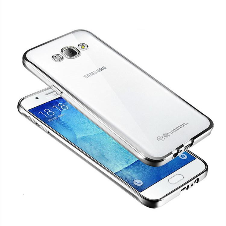 "Θηκη TPU ""Luxury Frame"" - Samsung Galaxy J5 (2015) - Ασημι - iThinksmart.gr"