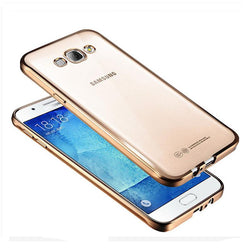 "Θηκη TPU ""Luxury Frame"" - Samsung Galaxy J5 (2015) - Χρυσο - iThinksmart.gr"