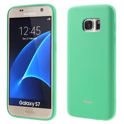 Θηκη TPU Roar Colorful Jelly - Galaxy S7 - Mint - iThinksmart.gr