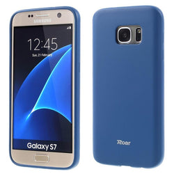 Θηκη TPU Roar Colorful Jelly - Galaxy S7 - Σκουρο Μπλε - iThinksmart.gr