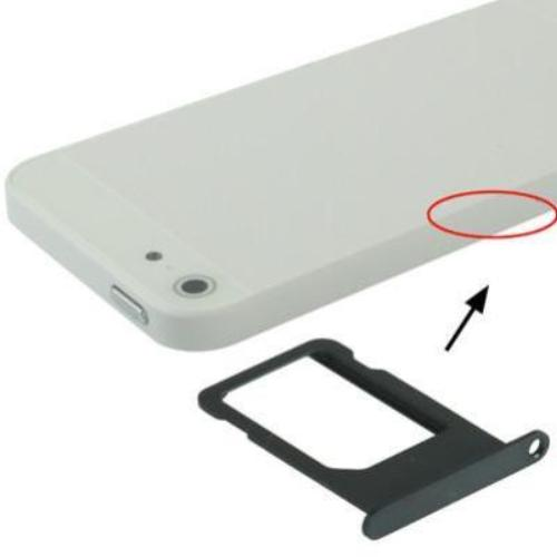 Sim Card Tray Holder για το iPhone 5 - iThinksmart.gr