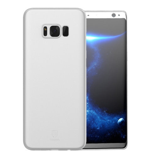 Θηκη Baseus Ultra-Thin - Samsung Galaxy S8 Plus - Διαφανο / Λευκο - iThinksmart.gr
