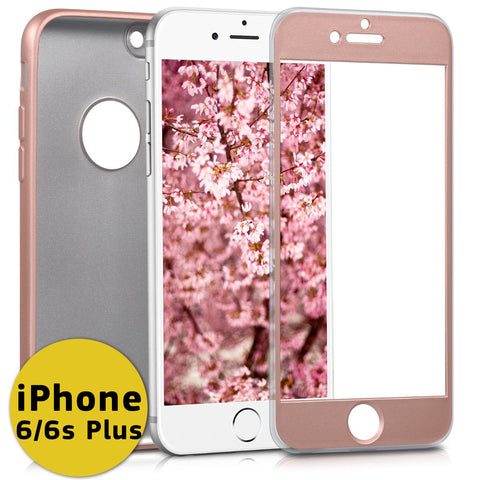Θηκη 360° Full Cover Flex - iPhone 6 Plus/6s Plus  - Ροζ Χρυσό - iThinkSmart.gr