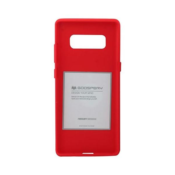 Θηκη Mercury Soft Feeling Case - Samsung Galaxy Note 8 - Red - iThinksmart.gr