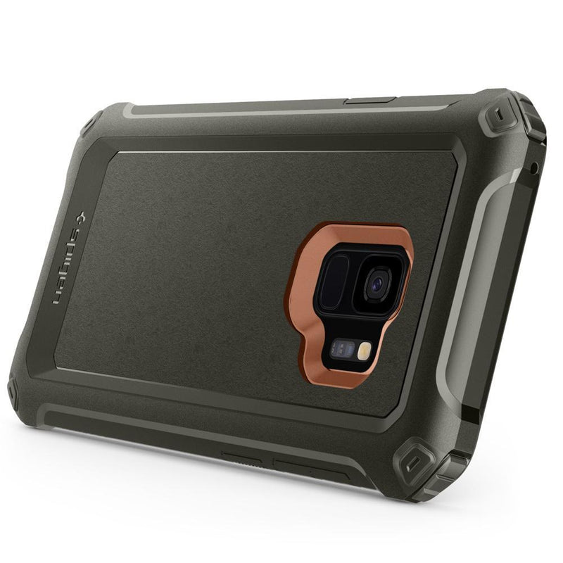 Θηκη Spigen Pro Guard - Samsung Galaxy S9 G960 - Army Green - 592CS22897 - iThinksmart.gr