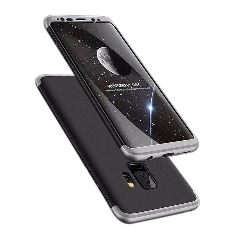Θηκη GKK 360° Full Cover - Samsung Galaxy S9 Plus - Μαυρο / Ασημι - iThinksmart.gr