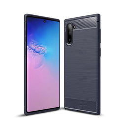 Θήκη TPU Carbon OEM - Samsung Galaxy Note 10 - Μπλε - iThinksmart.gr