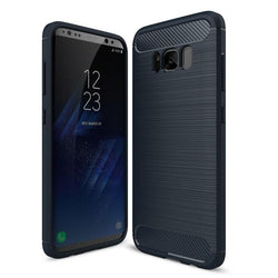Θηκη TPU Carbon OEM - Galaxy S8 Plus - Μπλε - iThinksmart.gr
