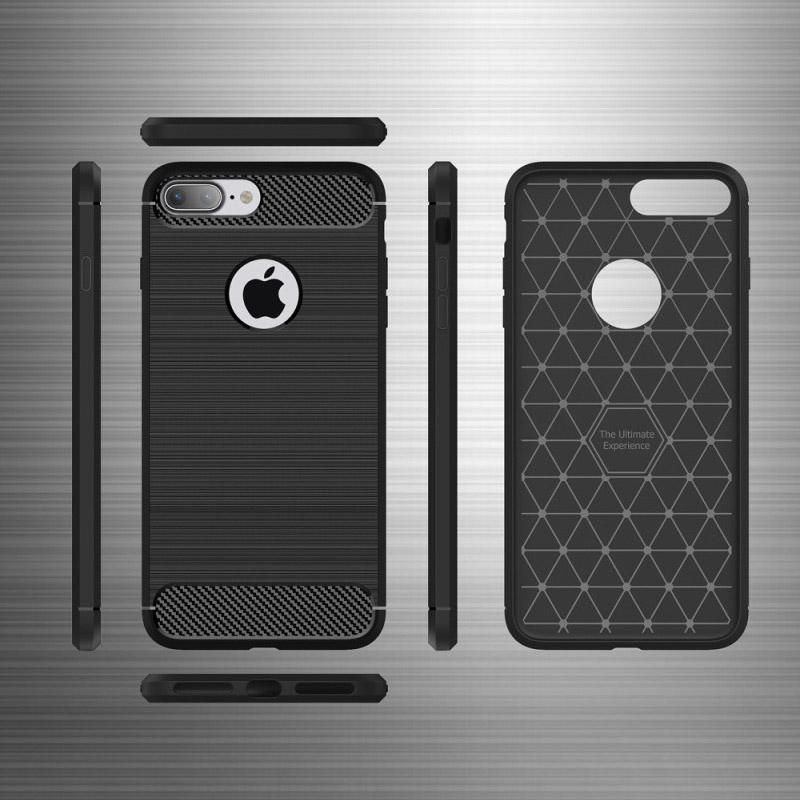 Θηκη TPU Carbon OEM - iPhone 7 / iPhone 8 - Μπλε - iThinksmart.gr