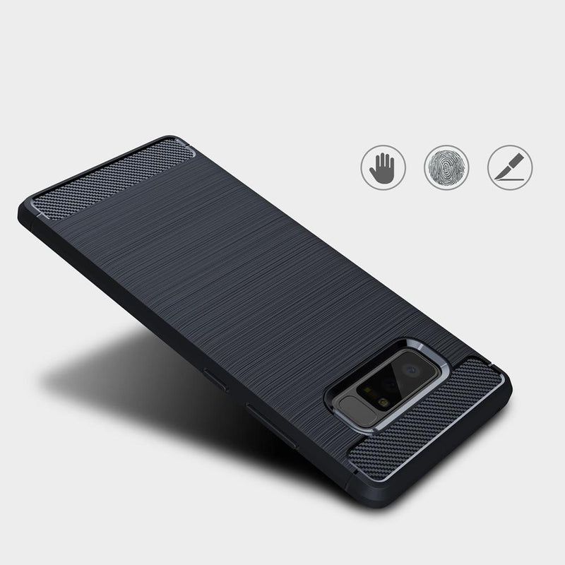 Θηκη TPU Carbon OEM - Samsung Galaxy Note 8 - Μπλε - iThinksmart.gr