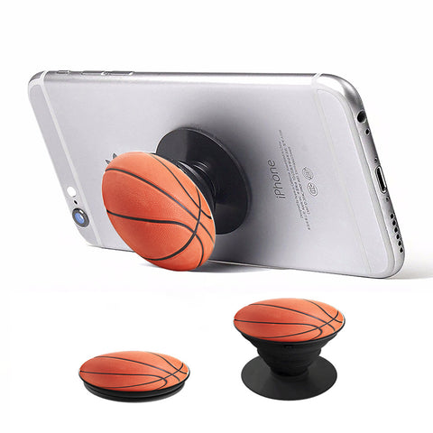 Pop Holder Phone Stand - Basketball