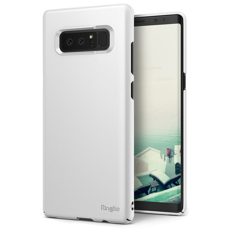 Θηκη Ringke Slim Ultra-Thin - Samsung Galaxy Note 8 - White - iThinksmart.gr
