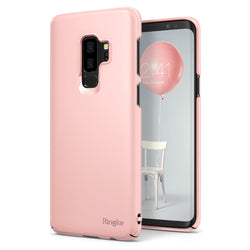 Θηκη Ringke Slim Ultra-Thin - Galaxy S9 Plus G965 - Pink - iThinksmart.gr