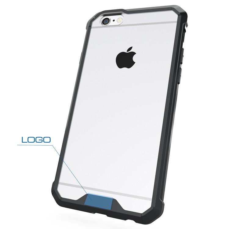 Θηκη Shockproof TPU - iPhone 6/6s - Μαυρο - iThinksmart.gr