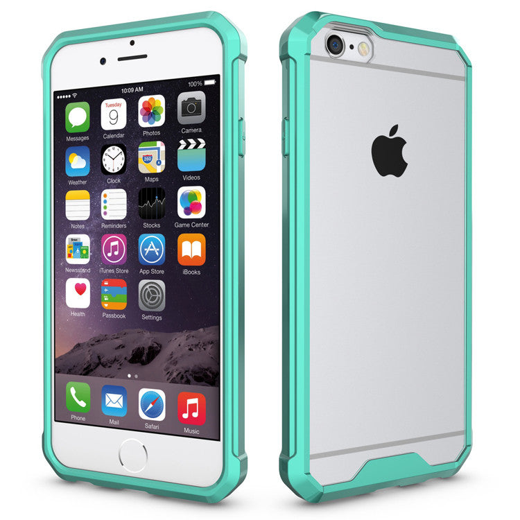 Θηκη Shockproof TPU - iPhone 6 Plus/6s Plus - Τιρκουαζ - iThinksmart.gr