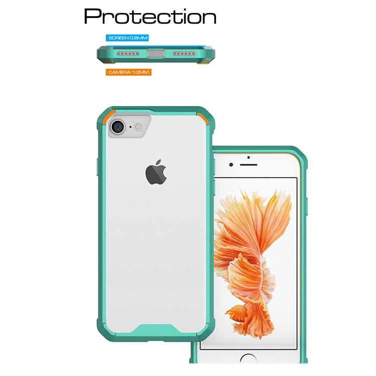 Θηκη Shockproof TPU - iPhone 7 / iPhone 8 / SE 2020 - Τιρκουαζ - iThinksmart.gr