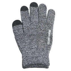 Touch Screen Gloves Anti-Slip Grip - Grey - iThinksmart.gr